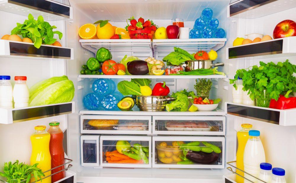 clean diet fridge