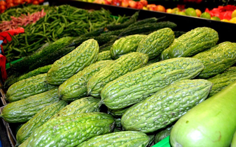 bitter melon at dandenong market