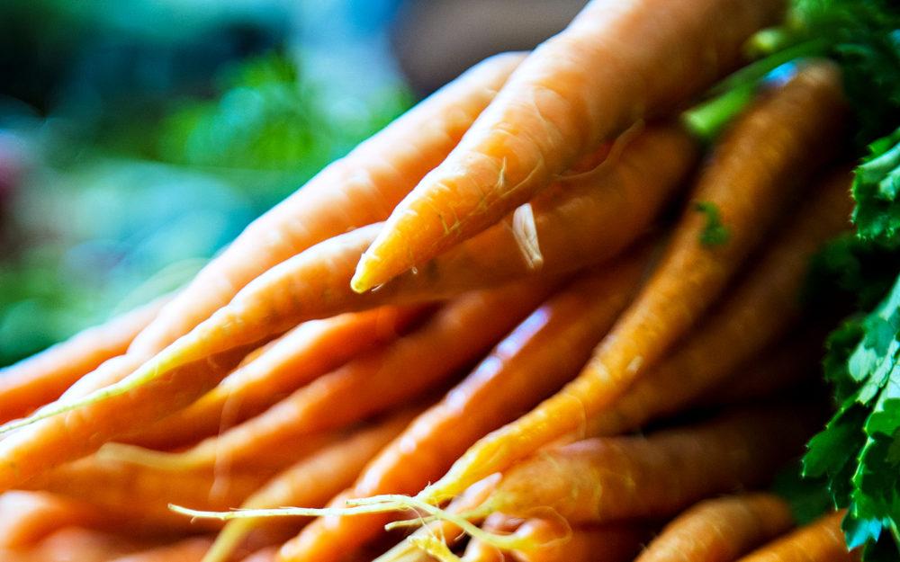 Carrots from Dandenong Market