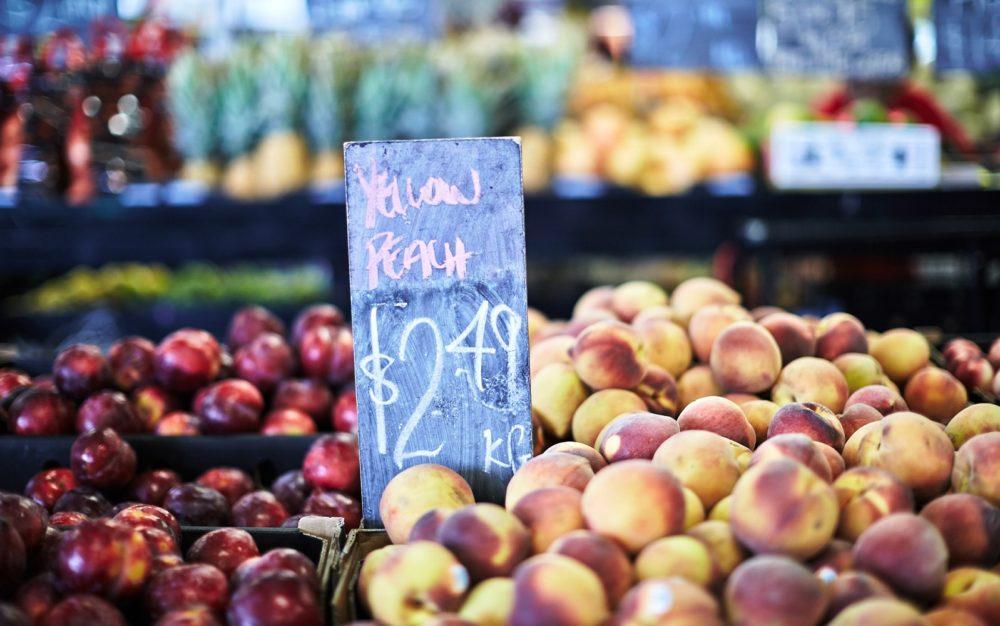 fruit and vegetables dandenong market