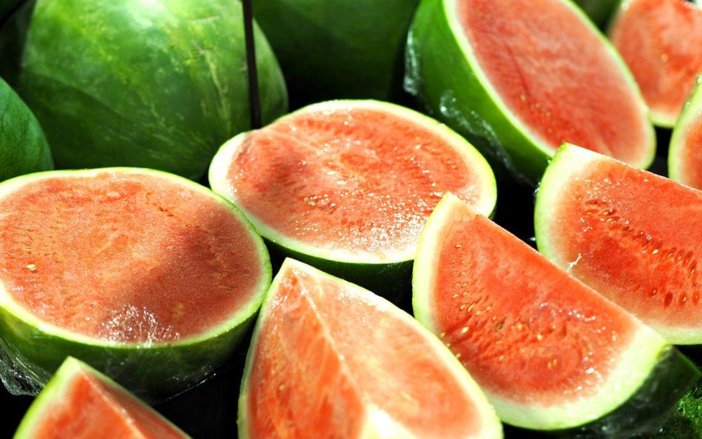 watermelons fruit dandenong market