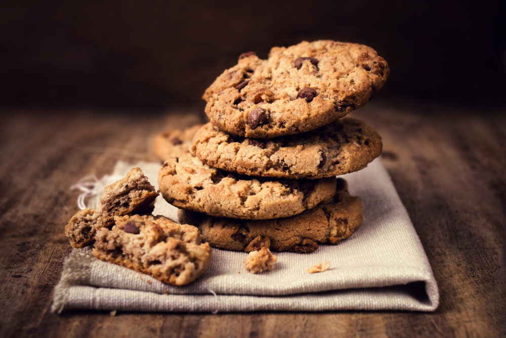 choc chip cookies for kids