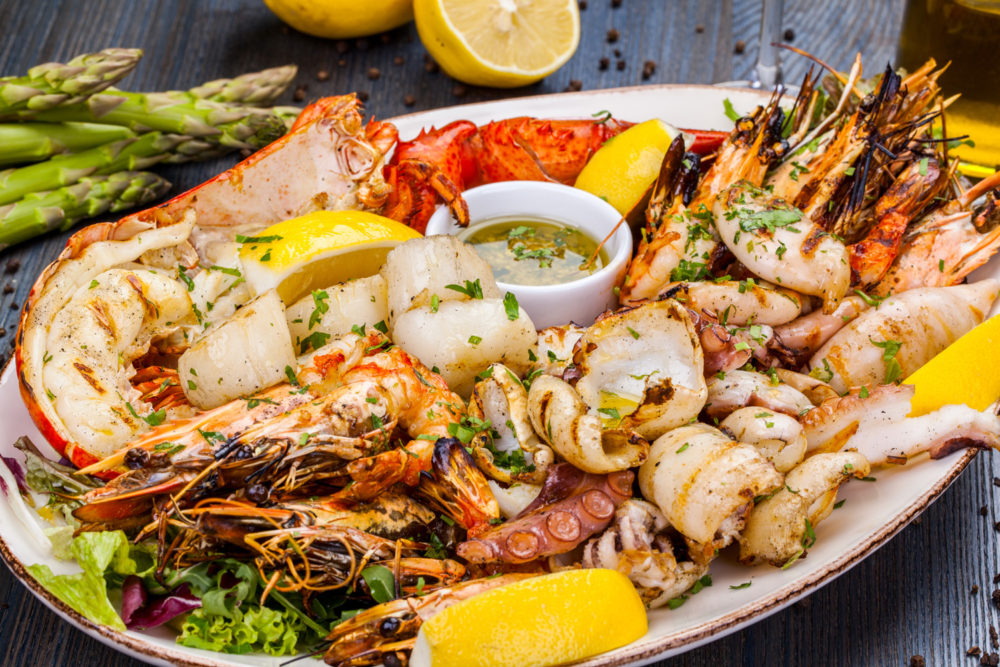 seafood platter easter dandenong market