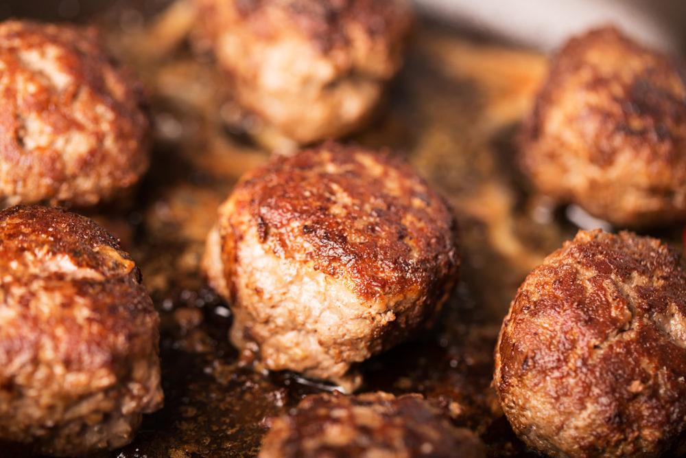 lamb and rosemary meatballs