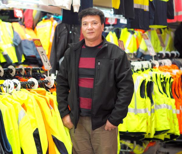 Dandenong Market Maxim Pleather Jacket 49 Long Sleeve Dress 35