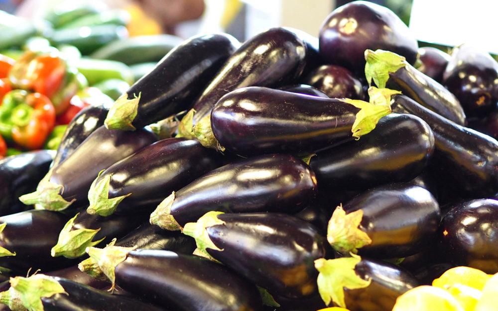 eggplants dandenong market
