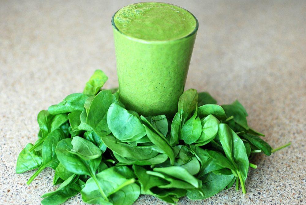 frozen vegetable smoothie